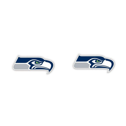 Seahawks Logo Earrings