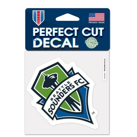 Sounders Perfect Cut Color 4x4 Decal
