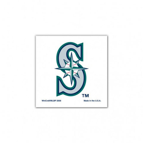 Mariners 4-Pack Temporary Tattoos