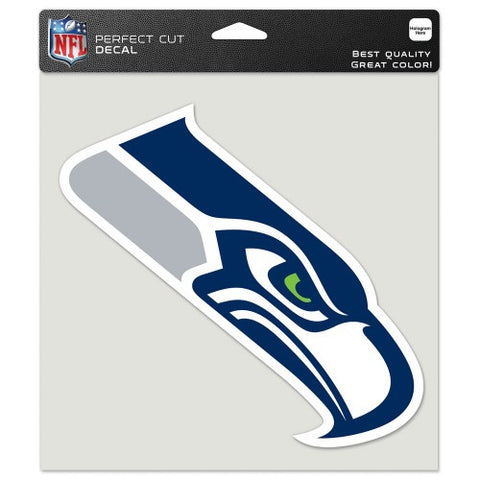 Seahawks Perfect Cut Color 8x8 Decal