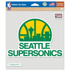 Sonics Perfect Cut 8x8 Decal