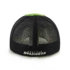 Seahawks Lime Taylor Closer Stretch Hat