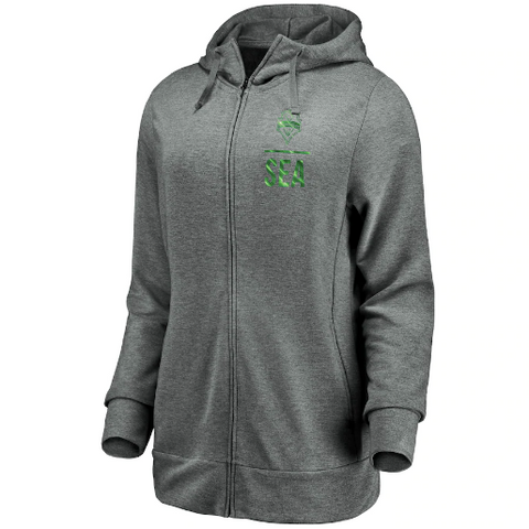 Women's Sounders SEA Logo Full Zip Hoodie