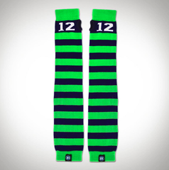 Seahawks Striped 12 ArmSocks