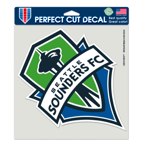 Sounders Perfect Cut Color 8x8 Decal