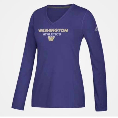 Women's UW Huskies Ultimate Long Sleeve Shirt