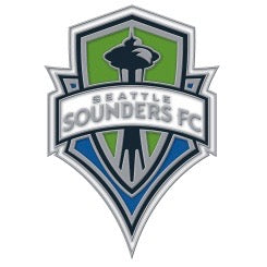 Sounders Logo Pin
