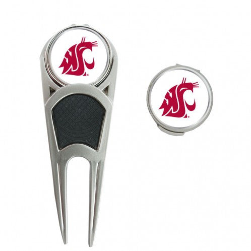 WSU Cougars Golf Ball Mark Repair Tool