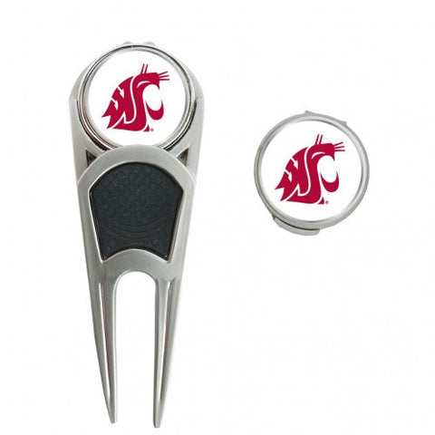 Washington State University Cougars Golf Ball Mark Repair Tool