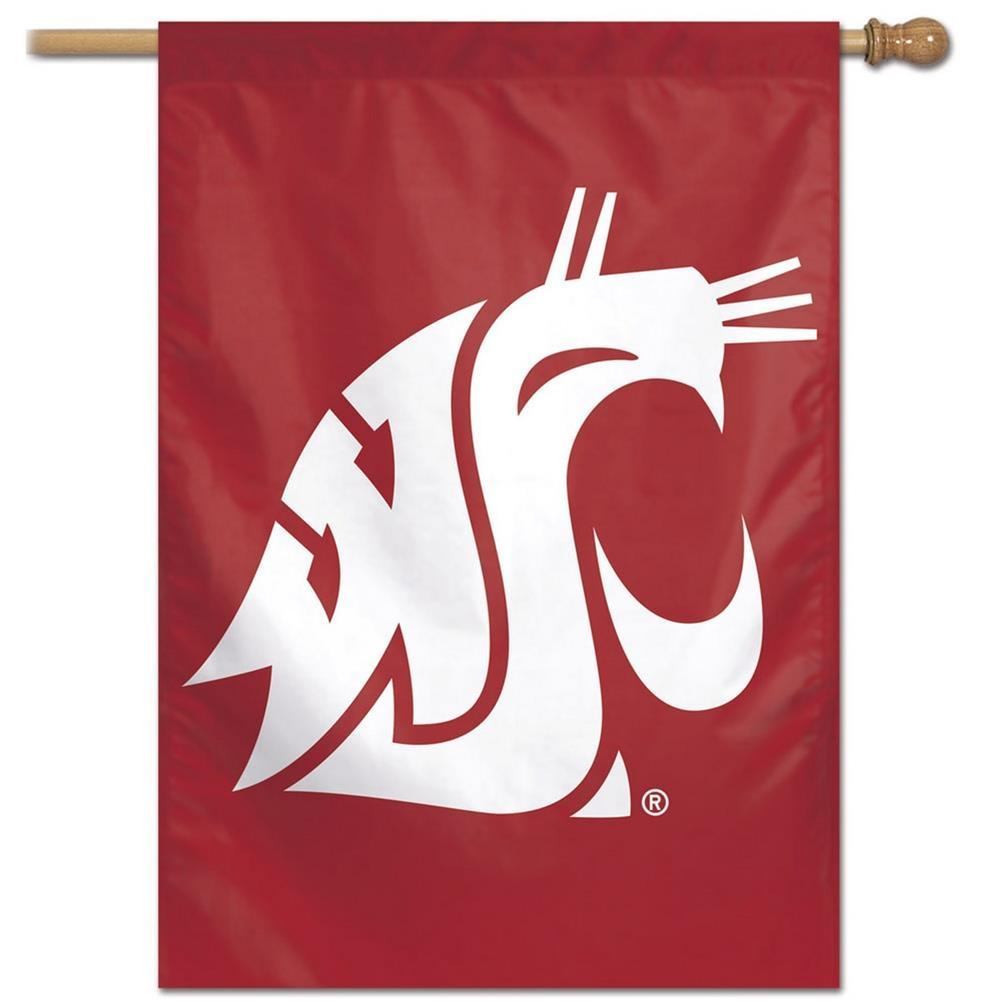 WSU Cougars Vertical Flag