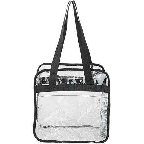 Clear Stadium Approved Zippered Tote Bag *2 LEFT!