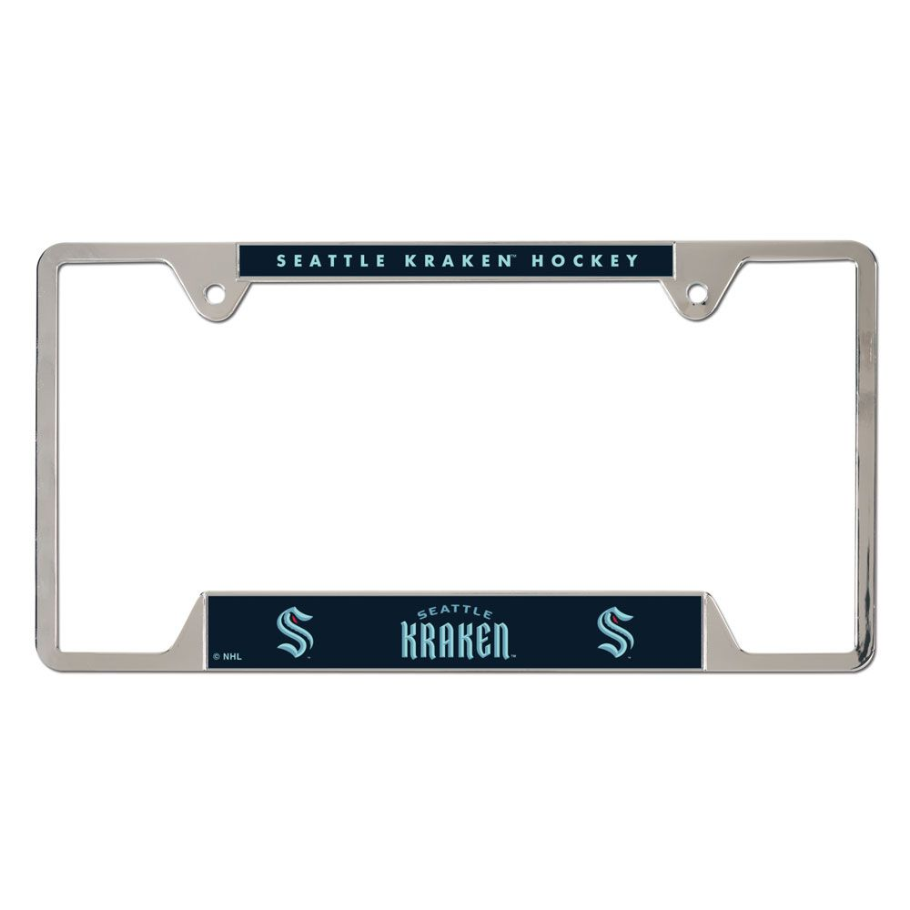 Kraken Metal License Plate Frame