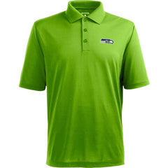 Seahawks Lime Logo Polo