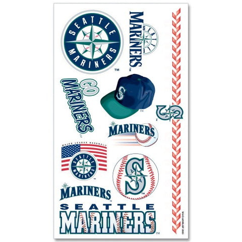 Mariners Temporary Tattoos