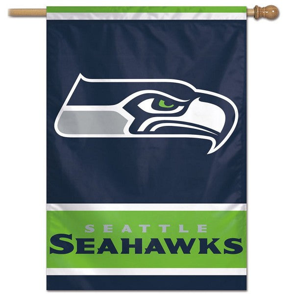 Seahawks Vertical Flag