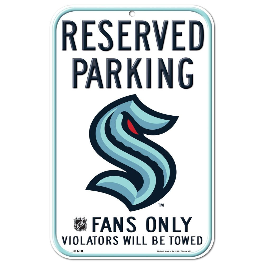"Kraken 11' x 17"" Parking Sign"