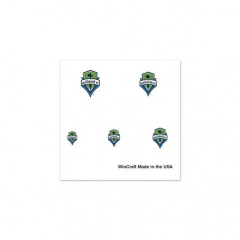 Sounders 4-Pack Nail Tattoos