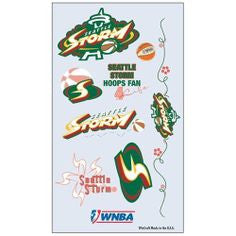 Storm WNBA Temporary Tattoos