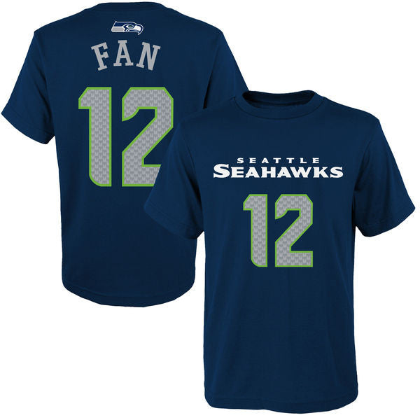 Seahawks Youth Fan 12 Player Tee