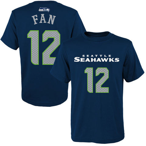 Youth Seahawks Fan 12 Player Tee