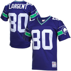 Seahawks Largent 80 Vintage Replica Jersey - Royal Blue