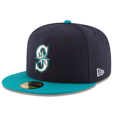 Seattle Mariners Authentic Collection On-Field Alternate 59FIFTY Fitted