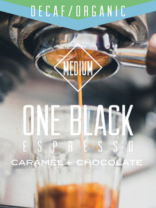 Decaf Organic One Black Espresso