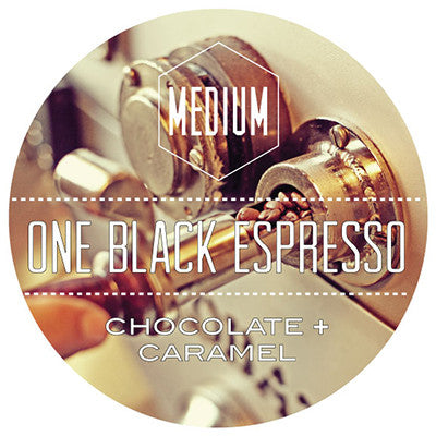 One Black Espresso