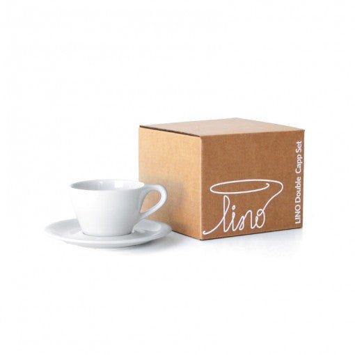 LINO Double Cappuccino Cups Set of 2