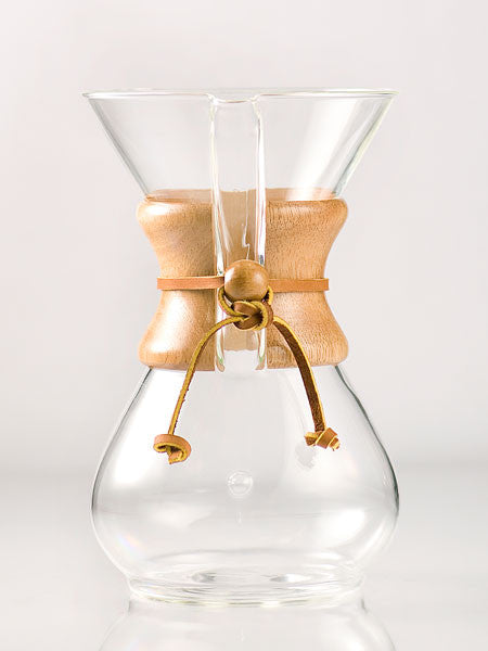 Chemex 6-Cup Wood Collar Coffeemaker