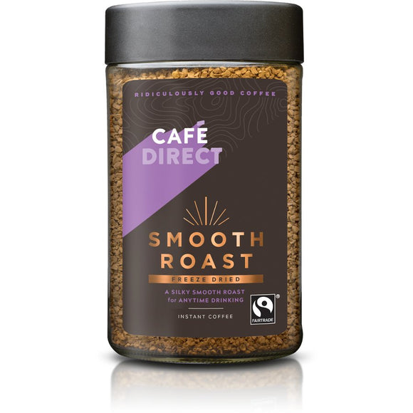 Cafe Direct Smooth Roast Instant Coffee 100g