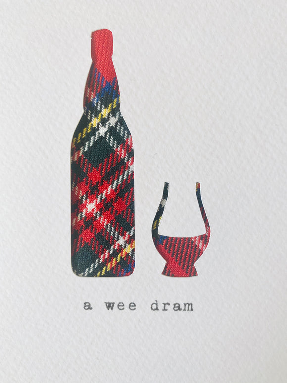 Hiya Pal Scottish Tartan Greetings Cards