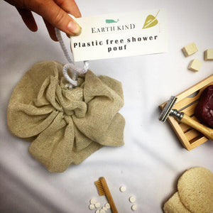 Earth Kind Plastic Free Shower Pouf