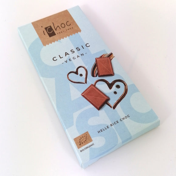 iChoc Almond Orange Vegan Chocolate 80 grams