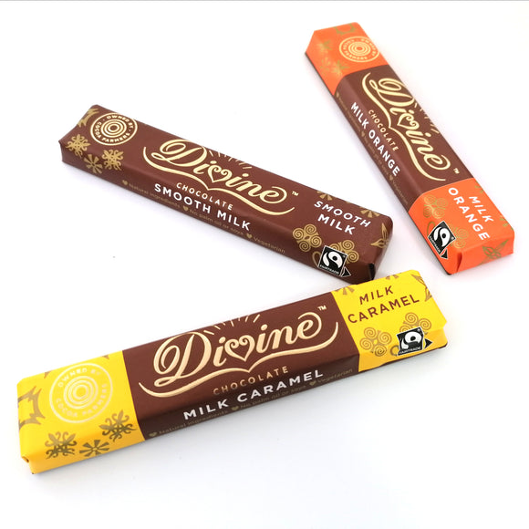 Divine Orange Milk Chocolate 35 grams