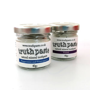 Truthpaste Peppermint and Wintergreen Toothpaste