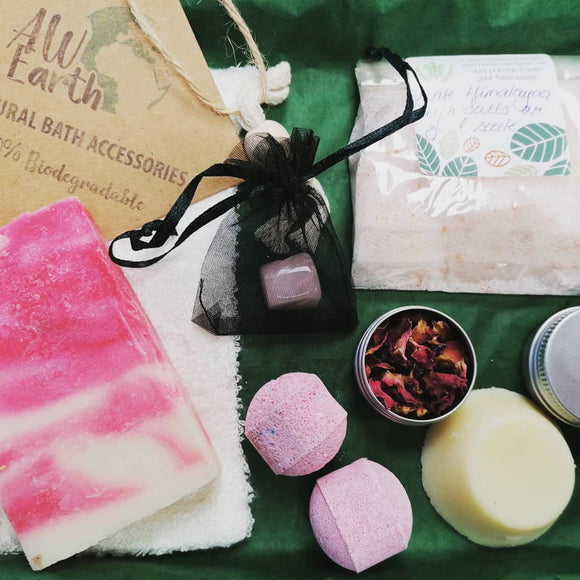 Mother's Day - Postable Plastic Free Spa Kit (Vegan Friendly)