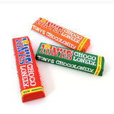 Tony's Chocolonely Raspberry & Popping Candy White Chocolate Bar 180g