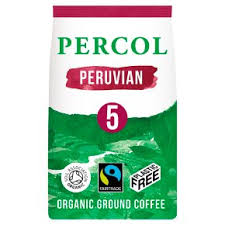 Percol Bold Peruvian Dark Roast Ground Coffee 200g