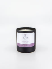 Hawaiian Sunset - Peace Candle with Two Amethyst Crystals - The Spa Girl Life