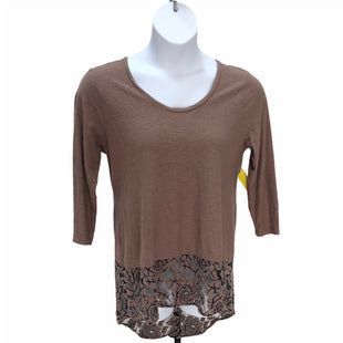 Primary Photo - BRAND: CUT LOOSE STYLE: TOP LONG SLEEVE COLOR: BROWN SIZE: L SKU: 293-29311-30604