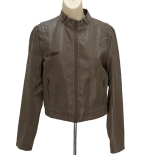 Primary Photo - BRAND: ACTIVE USA STYLE: JACKET OUTDOOR COLOR: TAUPE SIZE: L SKU: 293-29312-28603