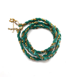 Primary Photo - BRAND:   CMC STYLE: BRACELET COLOR: GREEN OTHER INFO: BESO BESA - SKU: 293-29311-35734MAGNETIC CLASPCAN BE USED AS A NECKLACE
