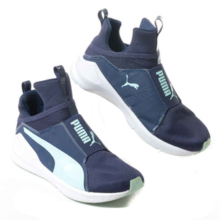 Primary Photo - BRAND: PUMA STYLE: SHOES ATHLETIC COLOR: BLUE GREEN SIZE: 7.5 SKU: 293-29311-29830