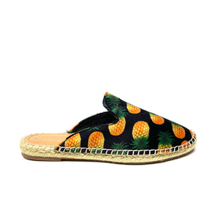Primary Photo - BRAND: RAMPAGE STYLE: SHOES FLATS COLOR: BLACK SIZE: 7.5 OTHER INFO: PINEAPPLE SKU: 293-29312-34043