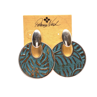 Primary Photo - BRAND: PATRICIA NASH STYLE: EARRINGS COLOR: BLUE SKU: 293-29311-34027