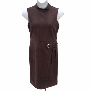 Primary Photo - BRAND: EMMA AND MICHELE STYLE: DRESS SHORT SLEEVELESS COLOR: BROWN SIZE: 12 SKU: 293-29311-30100