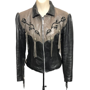 Primary Photo - BRAND:   CMC STYLE: JACKET LEATHER COLOR: BLACK SIZE: XS OTHER INFO: GYPSY LEATHER - SKU: 293-29311-35232