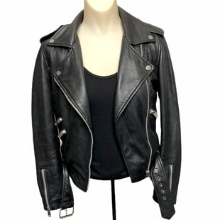 Primary Photo - BRAND:  CMA STYLE: JACKET LEATHER COLOR: BLACK SIZE: XS OTHER INFO: WALTER BAKER - SKU: 293-29312-30921