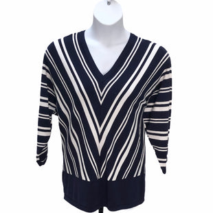Primary Photo - BRAND: LANE BRYANT STYLE: TOP LONG SLEEVE COLOR: BLUE WHITE SIZE: 1X SKU: 293-29312-25808